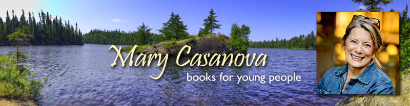 Mary Casanova Writing Journal - a view inside the process of writing